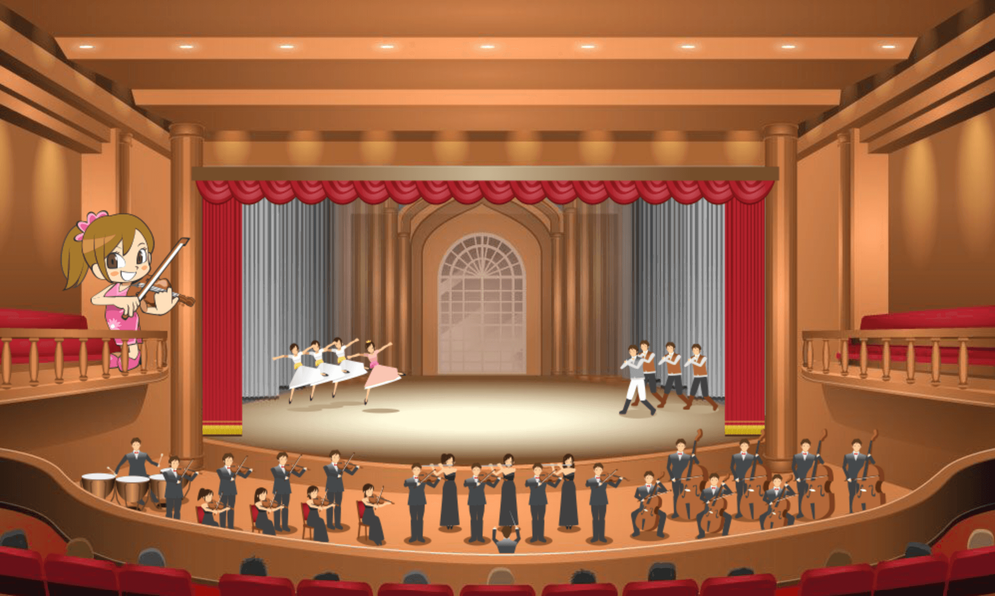 エンタメール】全国の劇場・ホール・会館を探す